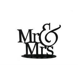 FIGURA METÁLICA MR&MRS