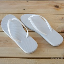 Chancletas blanca