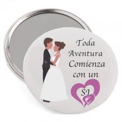 Espejo para bodas