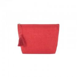 Neceser Yute Rojo
