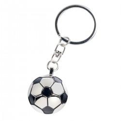 Llavero metálico pelota fútbol