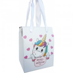 Caja unicornio para regalo