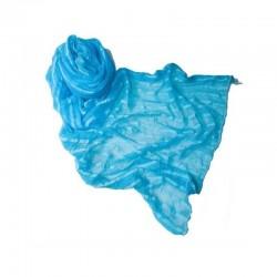 Pashmina azul turquesa