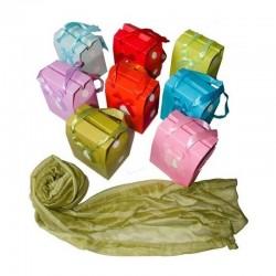 Pashminas Colores Con Caja...