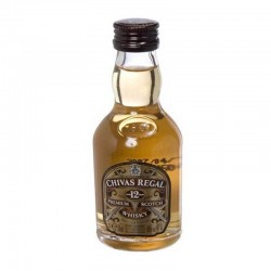 Mini Botellas Whisky Chivas