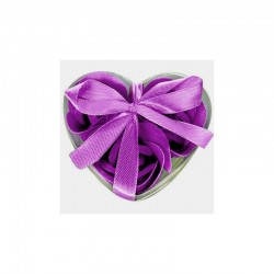 Flores de Jabón Violeta