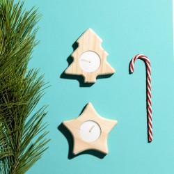 Set 2 Velas de navidad de...