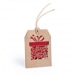 Adorno postal navideña