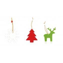 Set 3 Figuras navideñas...