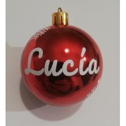 Bola Navidad 6cm Personalizada