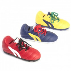 Hucha bota de fútbol